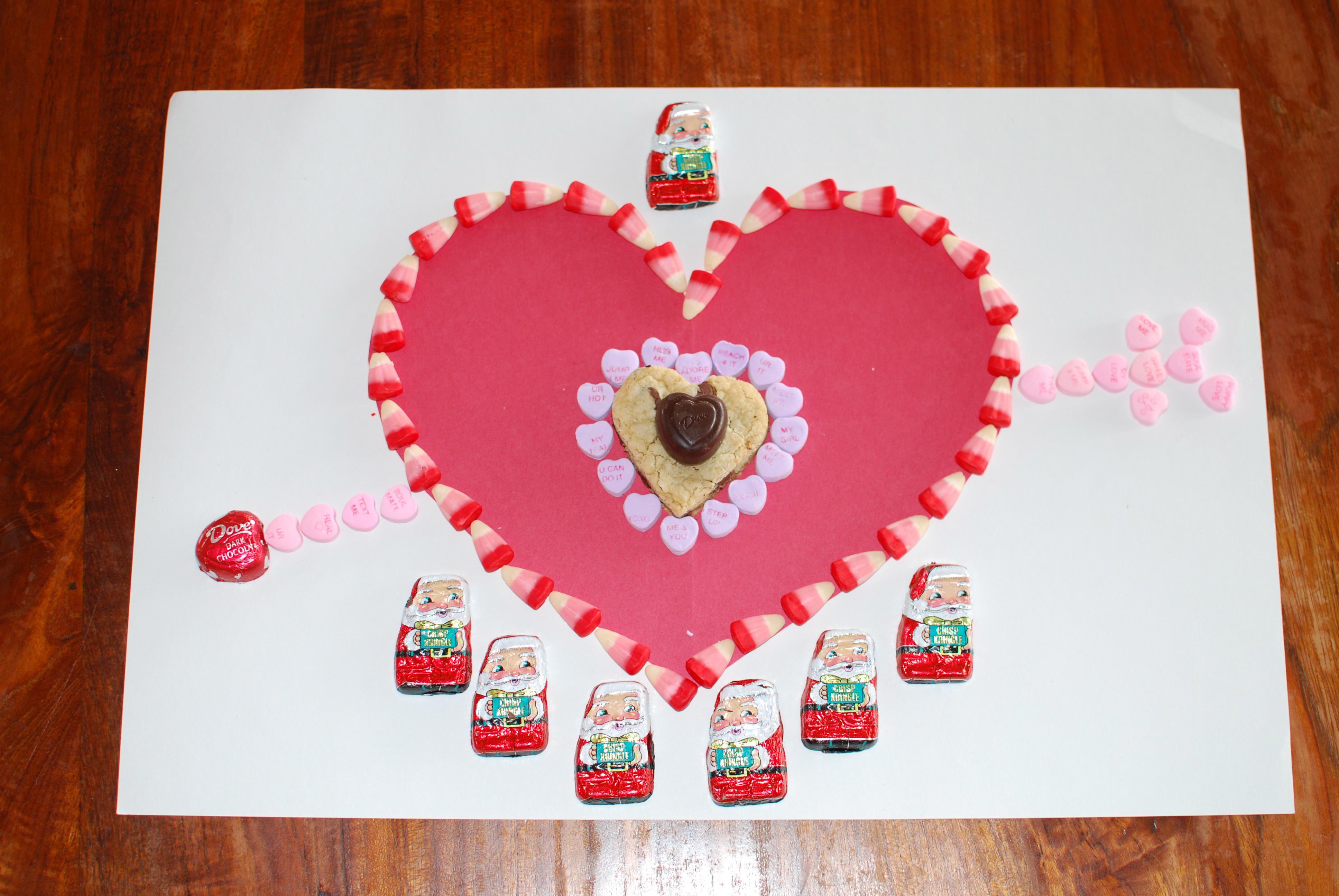 Homemade candy valentine leprechaun tricks