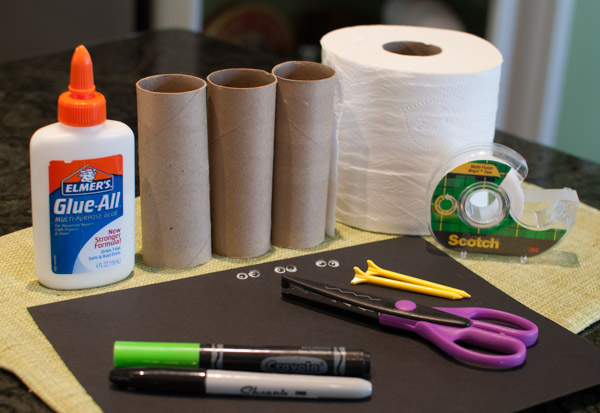 DSC_0026. Materials: Empty toilet paper tubes ...