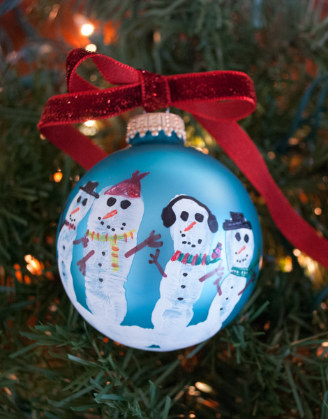 fingerprint snowmen ornaments handprint snowmen leprechaun tricks 2019